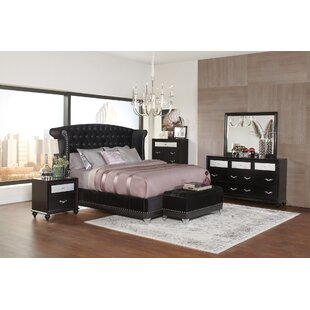 Eugene Upholstered Panel Bed