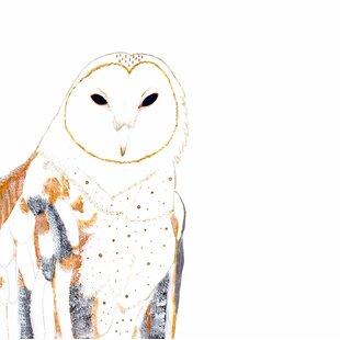 Owl By Amber Duke Graphic Art
