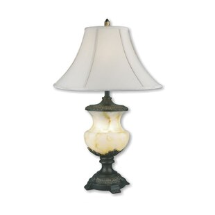 Reviews Lester Alabaster 32 Table Lamp By Astoria Grand