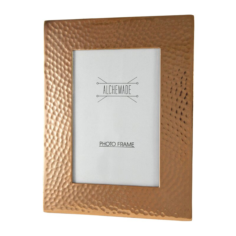 Alchemade Hammered Copper Picture Frame & Reviews | Wayfair