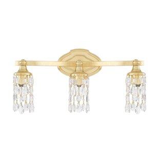Order Destrey 3-Light Metal Vanity Light By Willa Arlo Interiors