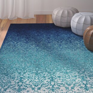 Shopping for Clavene Navy blue/Turquoise blue Area Rug ByBungalow Rose