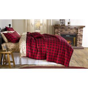 Buffalo 100% Cotton Reversible Quilt Set