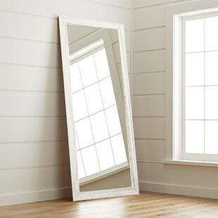 High Quality Coastal Wood Floor Mirror