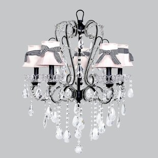 Jubilee Collection Carousel 5-Light Shaded Chandelier