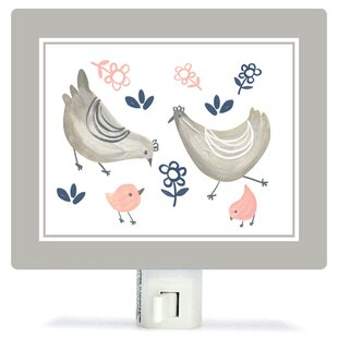 Oopsy Daisy Non-Personalized Little Chickens Canvas Night Light