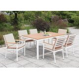 Eisenhower 7 Piece Dining Set with Cushions