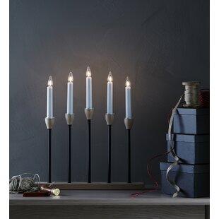 5 Black/Natural Johansfors Lamp By Markslojd