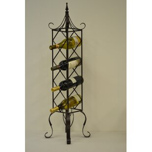 4 Bottle Floor Wine Rack b..