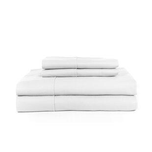 H.N.International Knightsbridge 600 Thread Count Egyptian Quality Cotton Jacquard Herringbone Sheet Set