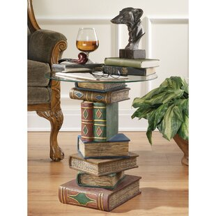 Stacked Volumes Sculptural End Table ByDesign Toscano