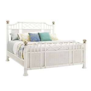 Ivory Key Panel Bed by Tom..