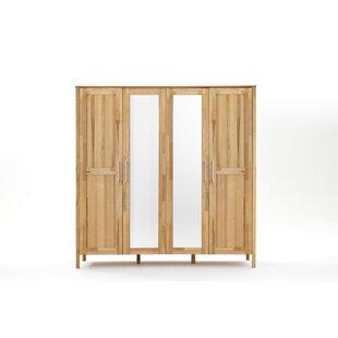 Maven 4 Door Wardrobe By Gracie Oaks