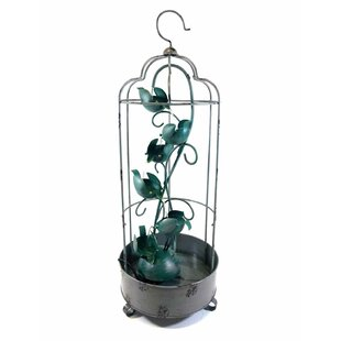 Birdcage Metal Fountain By Symple Stuff