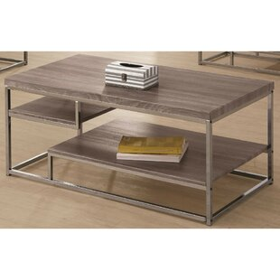 Onalaska Contemporary Wooden Coffee Table by Ivy Bronx