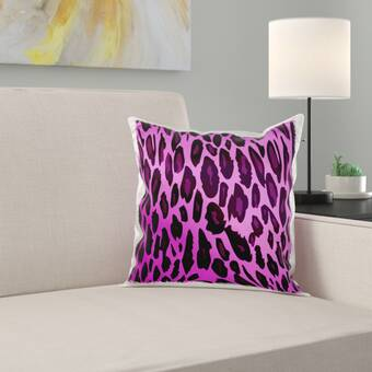 House Of Hampton Xzavier Animal Print Throw Pillow Wayfair