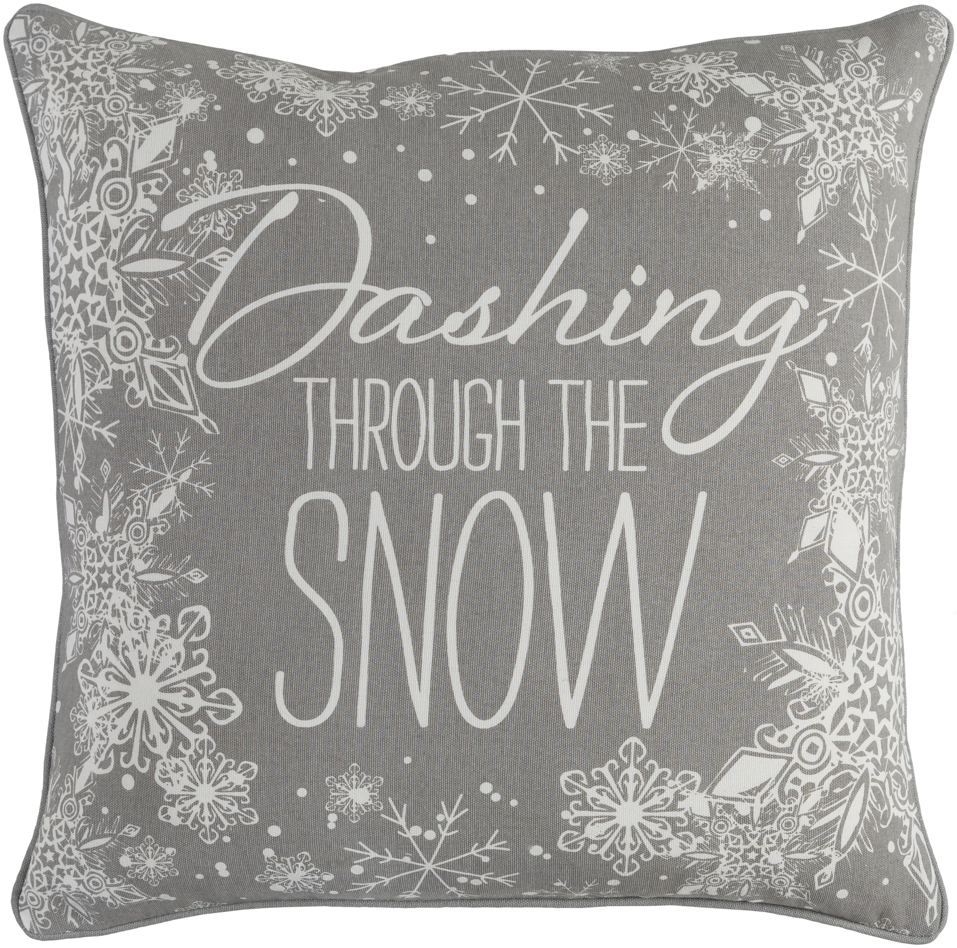 The Holiday Aisle Atsabe Cotton Throw Pillow Reviews Wayfair