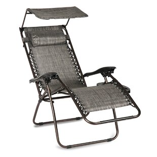 Hesson Zero Gravity Recliner Patio Chair With Cushions By Winston Porter