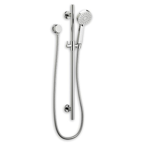 From The Tropic Collection, This Shower Kit Includes 1 Hand Shower, 1 Shower  Hose Wall Supply, And 1 Round Slide Bar. The Accessible And Easy Adjustment  Of ...
