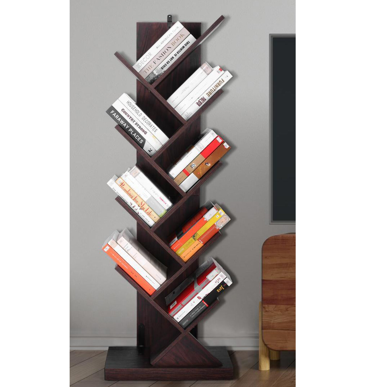 George Oliver Araujo 54 92 H X 19 68 W Geometric Bookcase Wayfair
