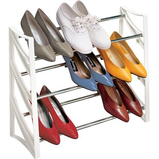 Lynk® Closet Convertible 9 Pair Shoe Rack