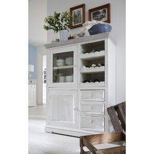 Geschirrschrank Opia aus Massivholz von Home & H..