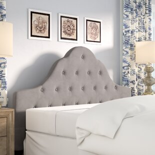 Best Reviews Grimsby Upholstered Panel Headboard by Lark Manor