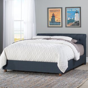 Farnsworth Upholstered Platform Bed by Beachcrest Home Best