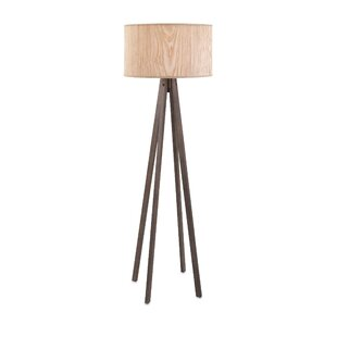 Online Reviews Bennet Wood 59 Tripod Floor Lamp By Foundry Select