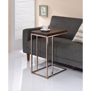 Meyer Frame End Table by Everly Quinn