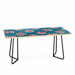 Sweet Roses Bouquet Coffee Table by East Urban Home