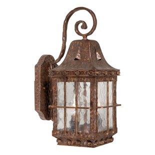 Best Price Brough Outdoor Wall Lantern By Fleur De Lis Living