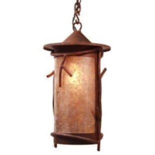 Steel Partners Sticks 1-Light Outdoor Pendant