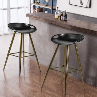 Bargain Bak 27.6 Bar Stool (Set of 2) by George Oliver Reviews (2019) & Buyer's Guide