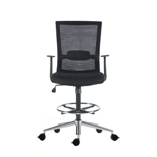 Teressa Mid-Back Mesh Drafting Chair