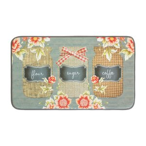 Farmers Jar Anti-Fatigue Kitchen Mat