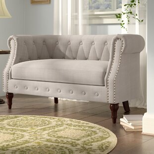 Edmeston Chesterfield Loveseat