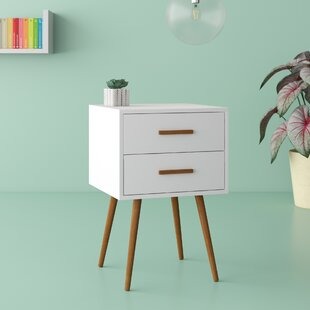 Marisha 2 Drawer Nightstand by Hashtag Home