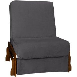 Tucson Perfect Sit N Sleep Inner Spring Pillow Top Futon Chair Epic Furnishings LLC