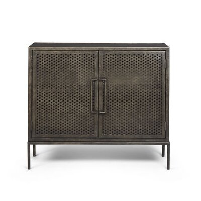 Urban 9 5 2 Door Metal Accent Cabinet Reviews Wayfair