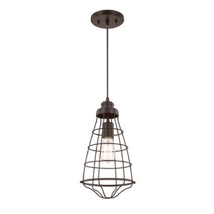Buying Mitchel 1-Light Geometric Pendant By Williston Forge