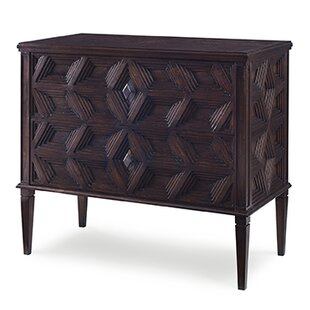 Slant 2 Drawer Accent Chest by Ambella Home Collection