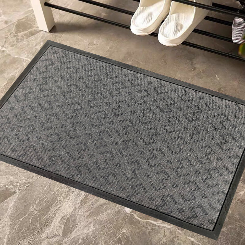Latitude Run Turah 18 X 30 Non Slip Outdoor Door Mat Wayfair