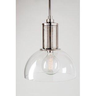 Brayden Studio Alday 1-Light Dome Pendant