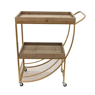 Wealdstone Wood/Metal Bar Cart