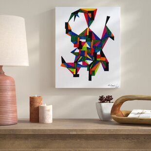 Three Dimensional Painting Print On Wred Canvas