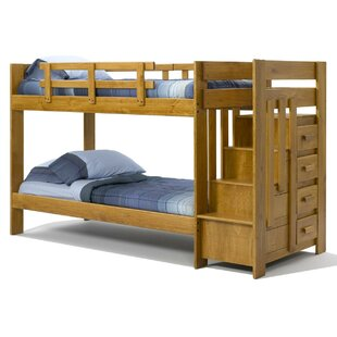 Twin over Twin Bunk with Storage by Chelsea Home