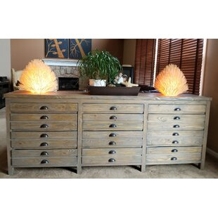 Salvaged Wood Printmaker's Sideboard by Padmas Plantation