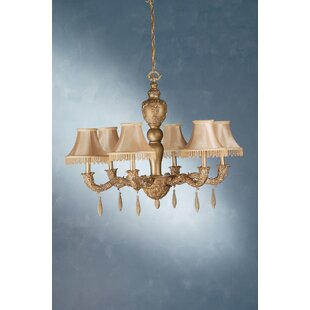 Meyda Tiffany Monticello 6-Light Shaded Chandelier