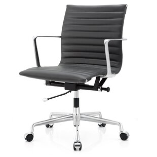 Meelano Aniline leather Office Chair